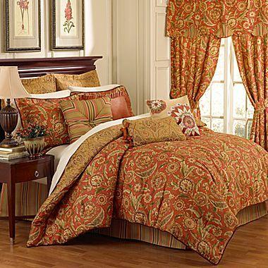 Waverly Grand Bazaar Comforter Set & Accessories
