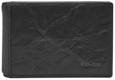 Fossil Neel Money Clip Bifold Wallet Black
