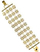 Mallarino Cecelia Floral Link Bracelet