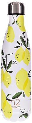 Hydro2 Togo Vacuum Double Wall Stainless Steel Water Bottle 750ml Lemon