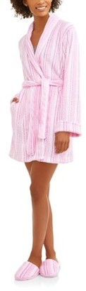 Body Candy Luxe Plush Sleepwear Robe & S