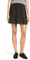 Madewell Embroidered Miniskirt