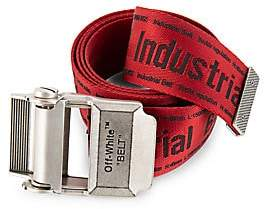 Off-White Men's Industrial Logo Belt
