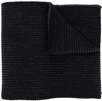 Kenzo Textural Wool Knit Scarf