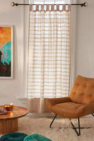 Urban Outfitters Radiant Stripe Woven Window Curtain