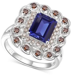 LeVian Le Vian Multi-Gemstone (2-5/8 ct. t.w.) Statement Ring in 14k White Gold