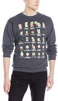 Nintendo Men's Pixel Cast Sweatshirt