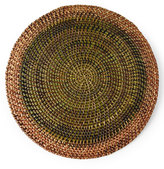 Deborah Rhodes Shaded Rattan Round Placemat