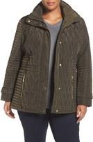 MICHAEL Michael Kors Plus Size Women's Quilted Jacket