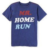 Boy's Peek Mr. Home Run T-Shirt