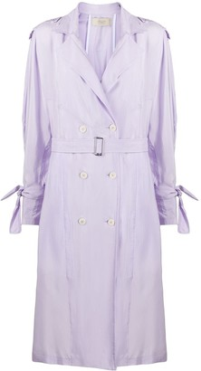 Maison Flaneur Loose Fit Belted Trench Coat
