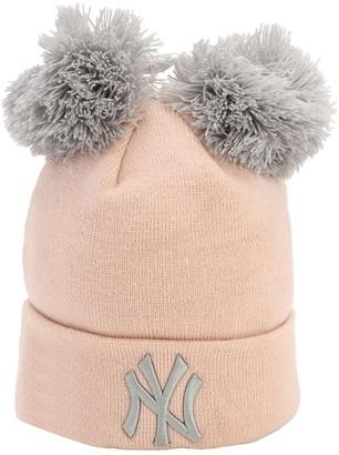 New Era Double Pompom Ny Yankees Knit Beanie