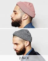 Asos Mini Fisherman 2 Pack In Pink and Twist SAVE