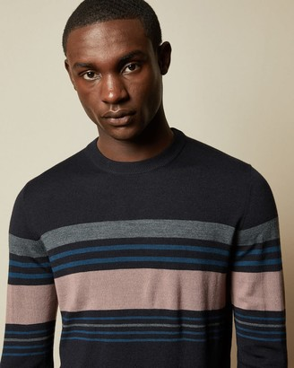 Ted Baker Striped Crew Neck Jumper