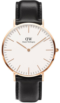Daniel Wellington Classic Sheffield 40mm Rose Gold Watch