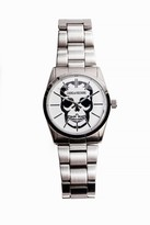 Zadig & Voltaire Timeless Skull 36 Silver Watch