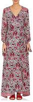 Natalie Martin Women's Danika Silk Wrap Maxi Dress