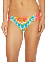 Trina Turk Tamarindo Shirred Hi Bikini Bottom