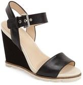 Nine West 'Gronigen' Wedge Sandal (Women)
