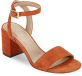 Charles by Charles David Keenan Open Toe Block Heel Sandals