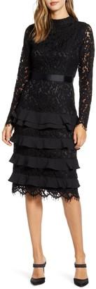 Rachel Parcell Long Sleeve Lace Dress