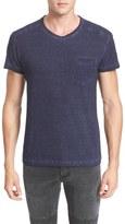 Belstaff Crossfell Extra Trim Fit Stripe Jersey T-Shirt