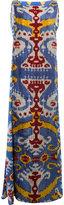 Afroditi Hera multi-pattern column gown - women - Silk/Polyester/Viscose - 40