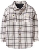 Crazy 8 Plaid Sherpa Shirt Jacket