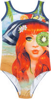 MonnaLisa Graphic one-piece swimsuit