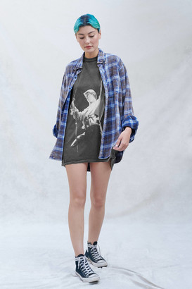 Urban Outfitters David Bowie Photo T-Shirt Dress