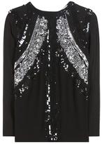 Altuzarra Madge Sequin-embellished Blouse