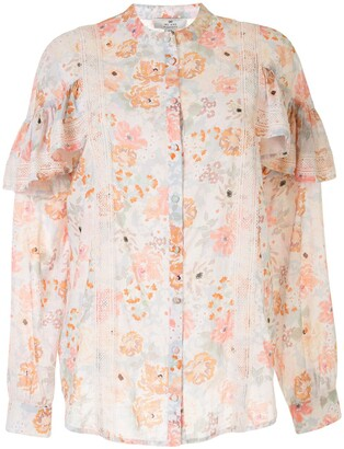 We Are Kindred Jessa frill sleeve blouse