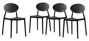 Christopher Knight Home Westlake Outdoor Plastic Chairs