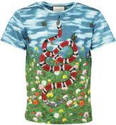 Gucci Snake Print T-shirt