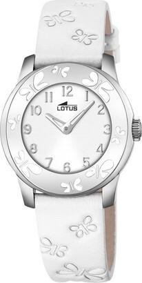 Lotus Unisex Analogue Quartz Watch with Leather Strap 18272/1