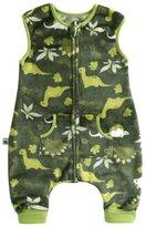 BOOPH Baby Boys Wearable Blanket Fleece Kids Sleepsack With Feet Pink Bunny M