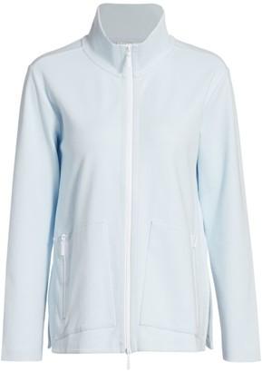 Joan Vass Relaxed Zip Jacket