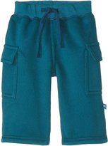 Kickee Pants Cargo Sweatpants (Baby) - Peacock-6-12M