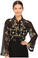 Versace Oversized Shirt Women's Blouse