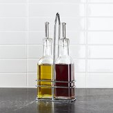 Crate & Barrel 2-Piece Oil & Vinegar Cruet Set