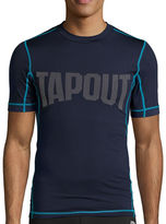 Tapout Short-Sleeve Compression Crew Tee