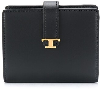 Tod's Leather Foldover Wallet