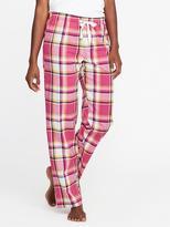 Old Navy Patterned Poplin Sleep Pants for Women