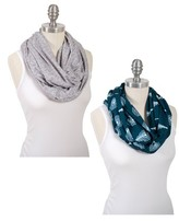 Bebe Au Lait Infant 2-Pack Infinity Nursing Scarves