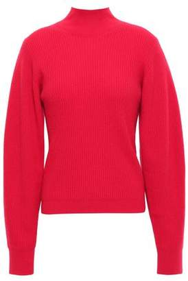 Thierry Mugler Ribbed Cashmere Turtleneck Sweater