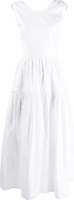 Cecilie Bahnsen Open Back Dress