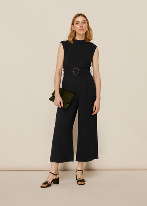 Penny Belted Jumpsuit