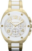 Michael Kors Women's MK5731 Two-Tone Stainless-Steel Quartz Watch with Silver Dial