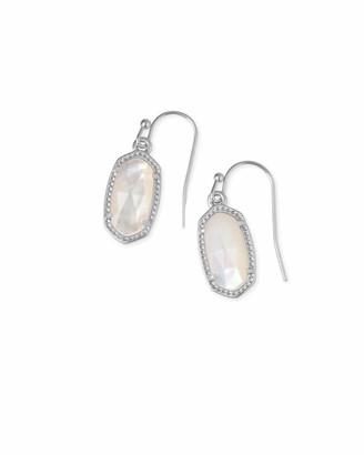 Kendra Scott Lee Drop Earrings in Silver