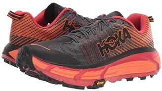 Hoka One One Evo Mafate 2 (Black/Poppy Red) Women's Running Shoes
